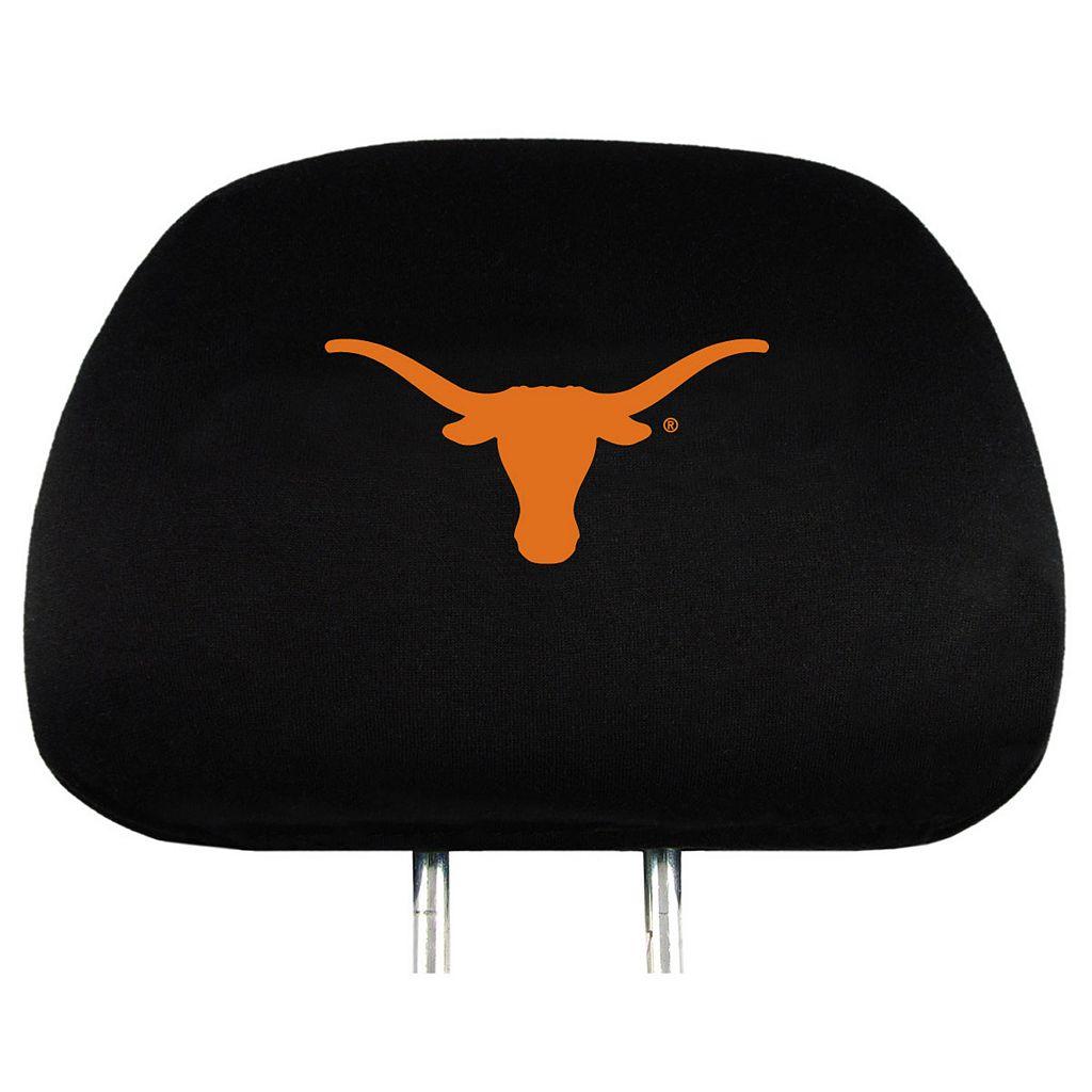 Texas Longhorns Head Rest Covers