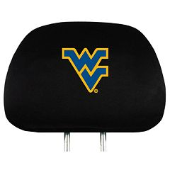 West Virginia Mountaineers Head Rest Covers