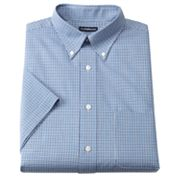 Croft and Barrow Classic-Fit Fancy Checked Button-Down Collar Dress Shirt