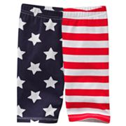 Jumping Beans Stars and Stripes Pedal Pusher Leggings - Baby