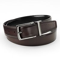 Apt. 9® Burnished Peak Reversible Faux-Leather Belt