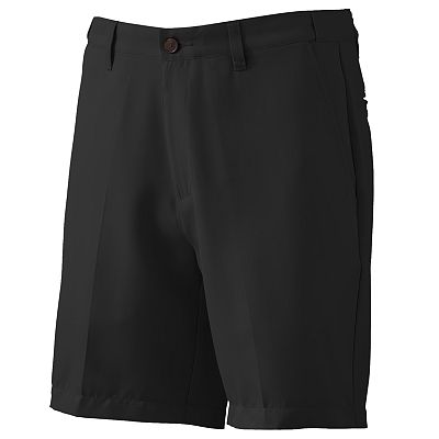 Croft and Barrow Microfiber Easy-Care Flat-Front Shorts