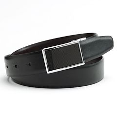 Apt. 9® Graphic Plaque Reversible Faux-Leather Belt