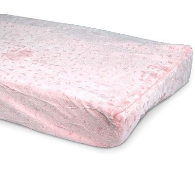 Carter's Moon Velour Changing Pad Cover