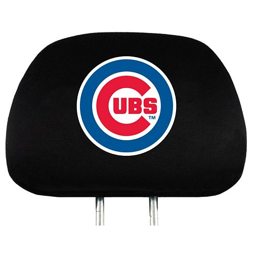 Chicago Cubs Head Rest Covers