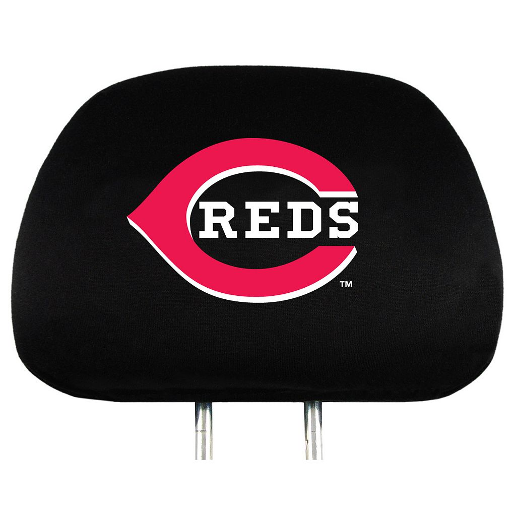 Cincinnati Reds Head Rest Covers