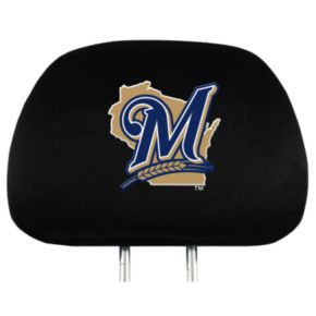 Milwaukee Brewers Head Rest Covers