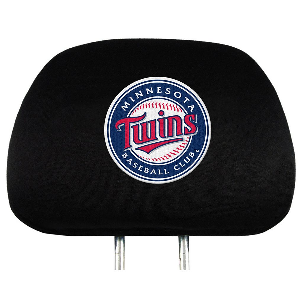 Minnesota Twins Head Rest Covers