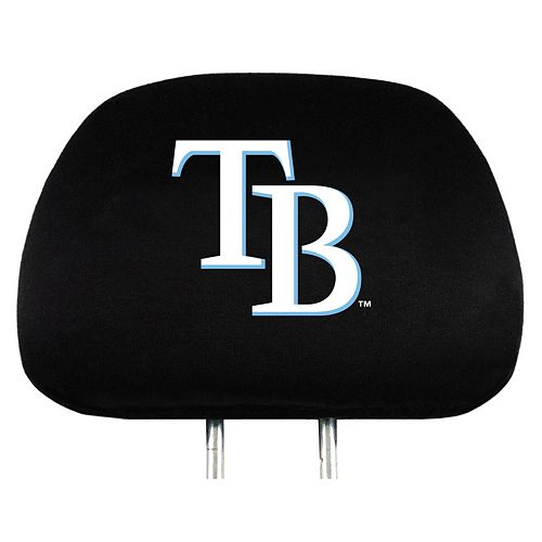Tampa Bay Rays Car Seat Headrest Cover Set