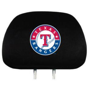 Texas Rangers Head Rest Covers