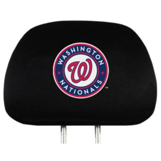 Washington Nationals Head Rest Covers