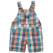 OshKosh B'gosh Plaid Shortalls - Baby