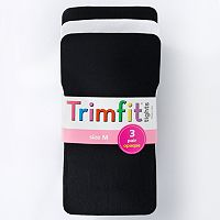 Girls Trimfit 3-pk. Opaque Tights