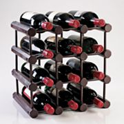 Wine Enthusiast 12-Bottle Modular Wine Rack