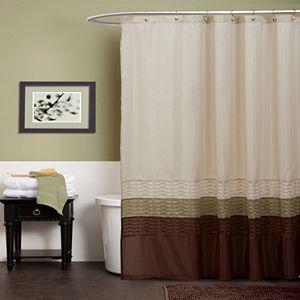 Lush Decor Maria Fabric Shower Curtain Sale
