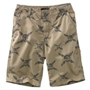 Helix Graphic Flat Front Shorts - Boys 8-20