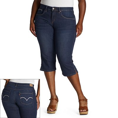 Levi's 512 Slimming Denim Capris - Women's Plus