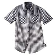 Rock and Republic Woven Gingham Button-Down Shirt - Boys 8-20