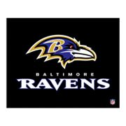 Baltimore Ravens Logo Canvas Art