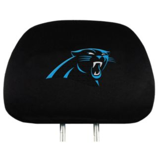 Carolina Panthers Head Rest Covers