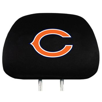 Chicago Bears Head Rest Covers