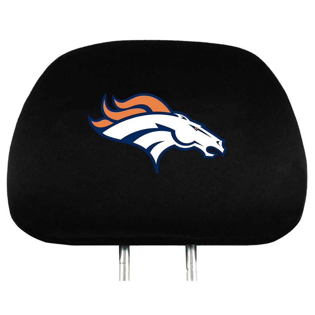 Denver Broncos Head Rest Covers