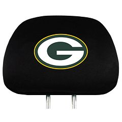 Green Bay Packers Head Rest Covers