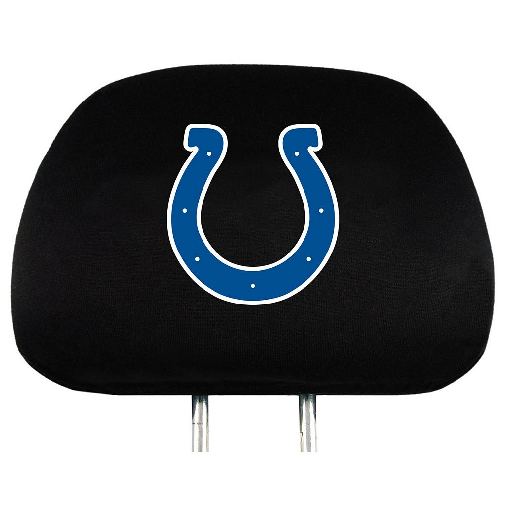 Indianapolis Colts Head Rest Covers