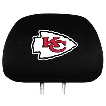 Kansas City Chiefs Head Rest Covers