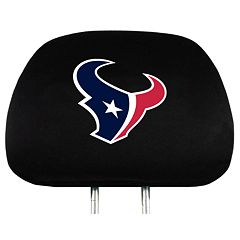 Houston Texans Head Rest Covers