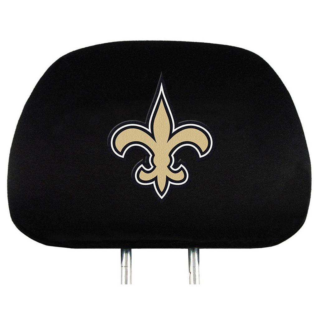 New Orleans Saints Head Rest Covers