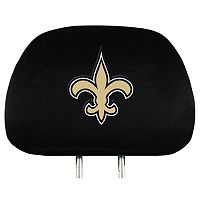 New Orleans Saints Head Rest Covers