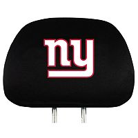 New York Giants Head Rest Covers