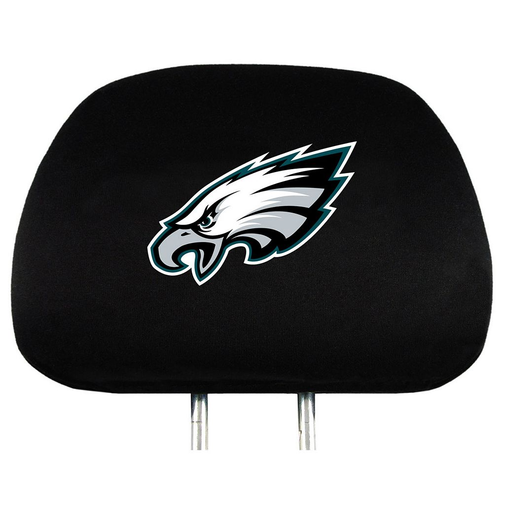 Philadelphia Eagles Head Rest Covers