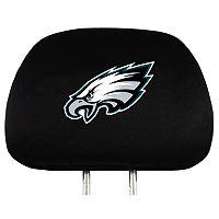 Philadelphia Eagles Head Rest Covers