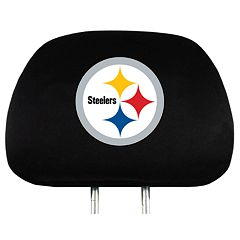Pittsburgh Steelers Head Rest Covers