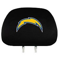 San Diego Chargers Head Rest Covers