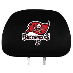 Tampa Bay Buccaneers Head Rest Covers