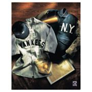 New York Yankees Collage Canvas Art