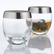 Wine Enthusiast Madison Avenue 2-pc. Whiskey Glass Set