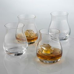 Wine Enthusiast 4-pc. Glencairn Whiskey Glass Set