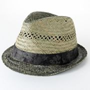 Helix Burnt Straw Fedora - Men