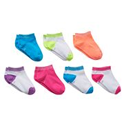 SONOMA life + style 7-pk. Lurex Low-Cut Socks - Girls