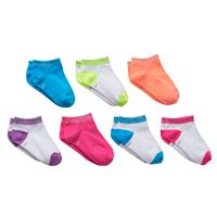 Girls 4-16 SO® 7-pk. Sparkle Low-Cut Socks