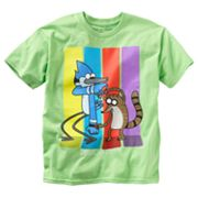 Regular Show Four Bars Tee - Boys 8-20