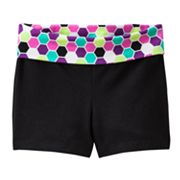Jumping Beans Geometric Yoga Shorts - Baby