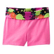 Jumping Beans Graffiti Yoga Shorts - Baby