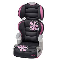 Evenflo Big Kid AMP High Back Convertible Booster Seat - Carissa