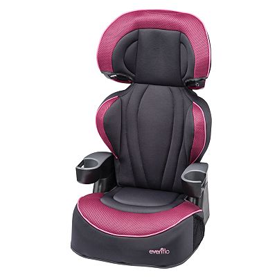 Evenflo Big Kid XL Convertible Booster Seat - Berry Blast