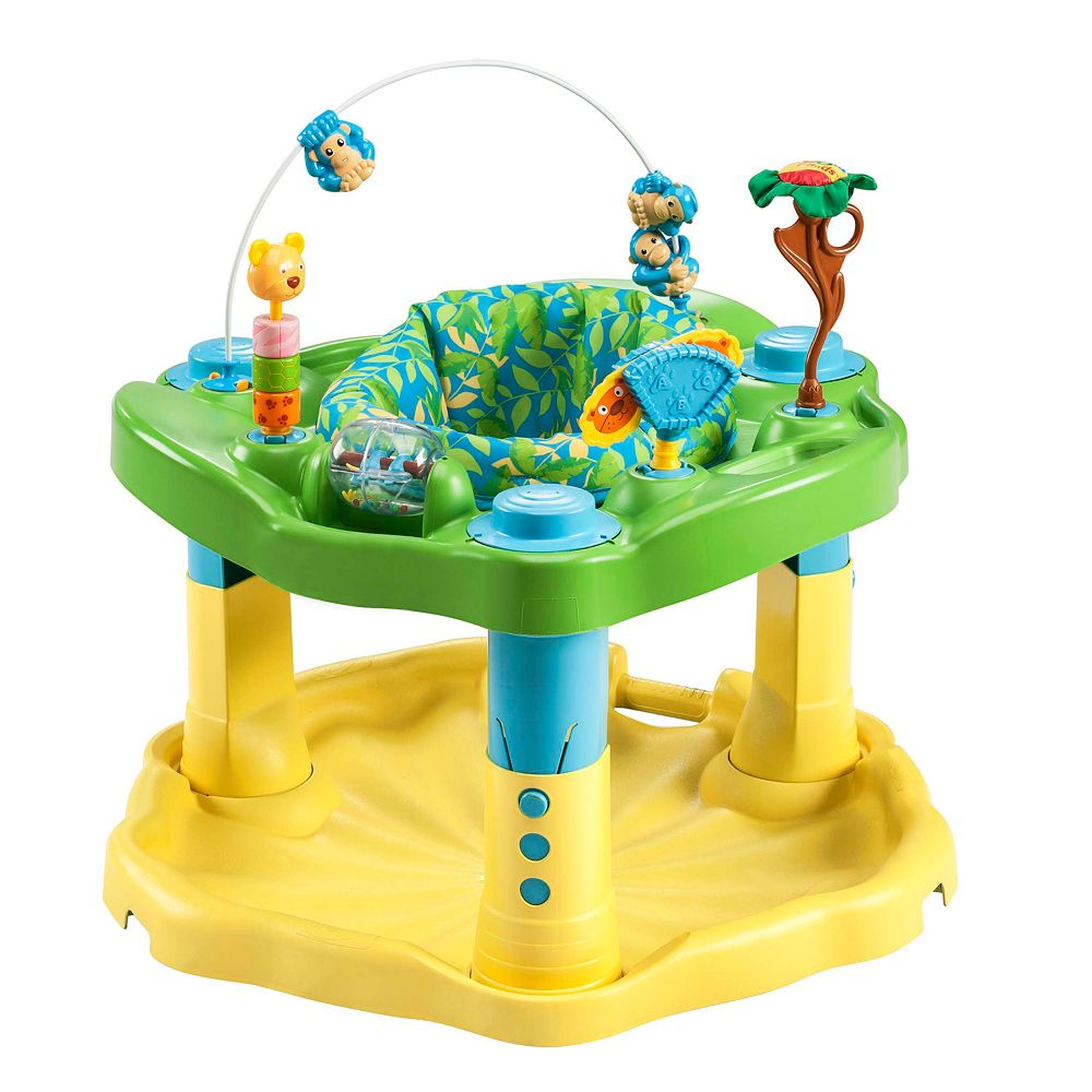 f13522d8315a Evenflo ExerSaucer Bounce   Learn Bouncer - Zoo Friends